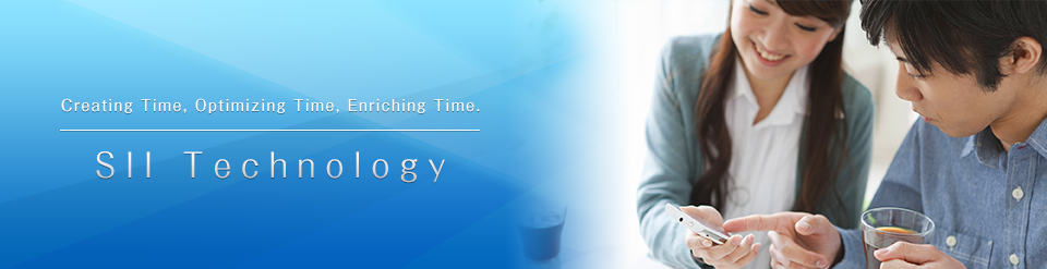 Creating Time, Optimizing Time, Enriching Time. SII Technology
