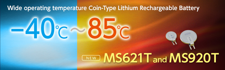 Wide operating temperature Coin-Type Lithium Rechargeable Battery